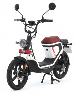 electrische-scooter-rood
